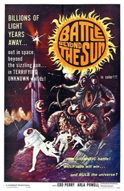 Battle Beyond the Sun poster