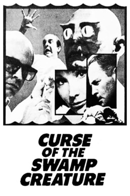Curse of the Swamp Creature poster