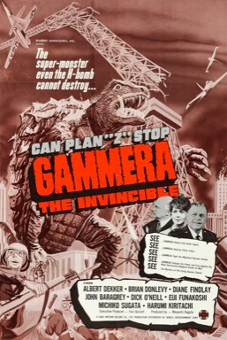 Gammera the Invincible poster
