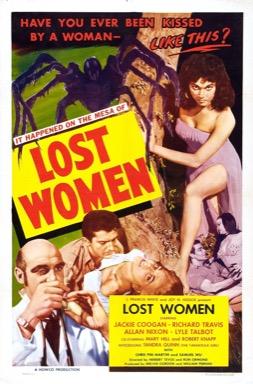 Mesa of Lost Women poster