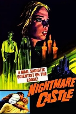 Nightmare Castle poster