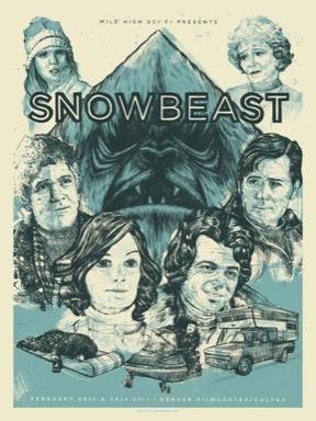 Snowbeast poster