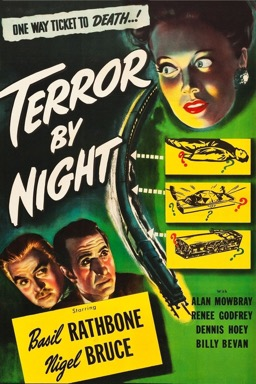 Terror by Night poster
