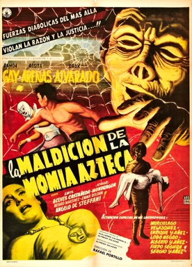 The Curse of the Aztec Mummy poster