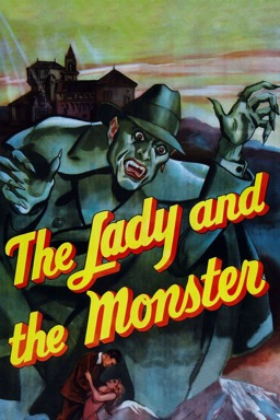 The Lady and the Monster poster