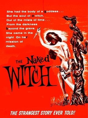 The Naked Witch poster