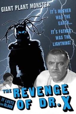 The Revenge of Dr. X poster
